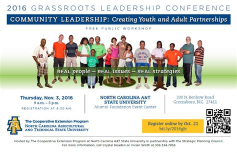grassroots leadership conference nc