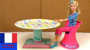 Meuble A Faire Soi Meme Gratuit : diy meubles fran ais table ronde pour barbie instruction pour la fabriquer soi m me youtube ~ Melissatoandfro.com Idées de Décoration