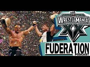 Shawn Michaels vs Triple H vs Chris Benoit (World Title Match) | The Fuderation: WWE WrestleMania XX