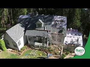 Byers Roofing - The Driscoll's get a new roof - Protecting their home and family