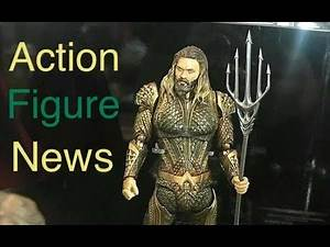 Action Figure News #130 NYCC 2017 SHF Justice League Mezco One: 12 VAH One Piece & More!!!