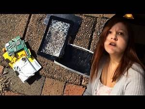 SMASHING WIFES TABLET! REVENGE for DESTROYED WWE Royal Rumble Tickets!