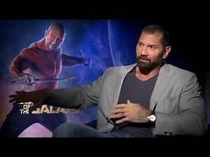 """Marvel's """"Guardians of the Galaxy"""" - Dave Bautista Interview"""