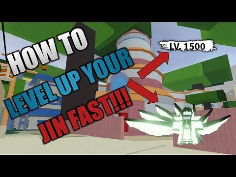 HOW TO LEVEL UP YOUR JIN FAST!!! | Shinobi Life 2