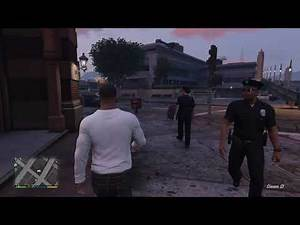 GTA 5 Flirting with Female Cop (GONE WRONG)
