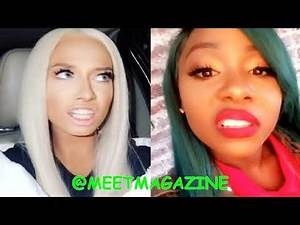 Bianca Bonnie King fight vs Mariah Lynn update! I WAS ONLY HER FRIEND BECAUSE OF CARDI B! #LHHNY