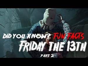 #gorehoundsofhorror #gorehounds Did you know? Some horror FACTS about Friday the 13th Part 2