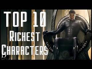 Top 10 Richest Comic Book Characters | TOP 10