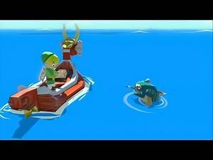 The Legend of Zelda: The Wind Waker HD [Part 14] - Magical Merchants and Flying Fish!