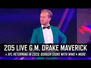 205 Live General Manager Drake Maverick, Jeremy Borash in WWE & More (Smack Talk 322 Hot Tags)