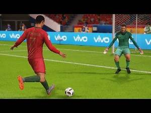 España vs Portugal | Copa Mundial Rusia 2018 de FIFA, Fase de Grupos | FIFA Simulacion