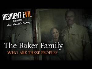RESIDENT EVIL 7 | BAKER FAMILY THEORY | Characters | Jack Marguerite & Lucas