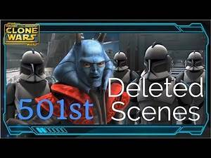501st DELETED SCENES (Star Wars: The Clone Wars Season 2)