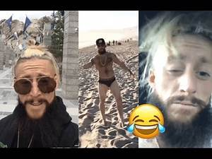 WWE Enzo Amore visit to Mount Rushmore (Instagram Story) 04/21/17