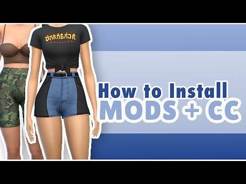 HOW TO INSTALL MODS AND CC MY ESSENTIAL BEGINNER MODS - The Sims 4 Tutorial