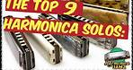 The Top 9 HARMONICA Solos in Rock History