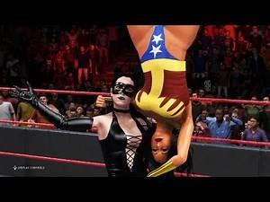 WWE 2K20 - Wonder Woman vs. Catwoman - Digital Comics, Marvel Legends, Epic Battle 💯