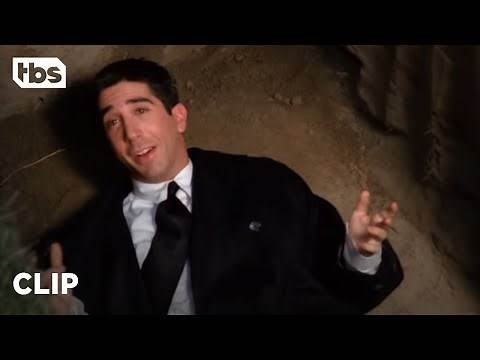 Friends: Ross Falls into a Grave at Nana's Funeral (Season 1 Clip) | TBS