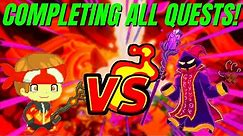 Completing ALL of Prodigy Quests   Future Puppet Master Battle!