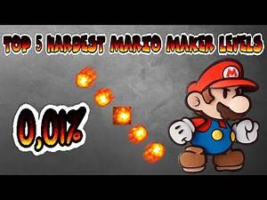 TOP 5 Hardest Mario Maker Levels