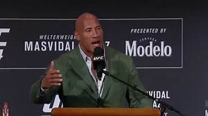 Dwayne 'The Rock' Johnson To Play UFC Wrestler In New Film