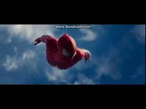 The Amazing Spiderman 2 Spiderman vs Rhino scene 1