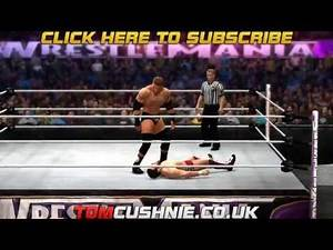 WWE 2K14 Daniel Bryan Vs Triple H