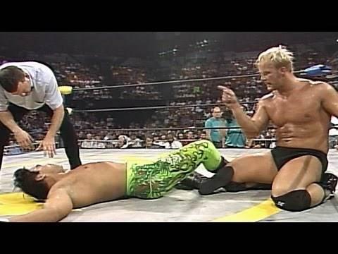 Ricky Steamboat vs. Steve Austin - WCW U.S. Heavyweight Title Match: Clash of the Champions XXVIII