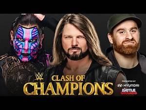 Aj Styles vs Jeff Hardy vs Sami Zayn Intercontinental Championship ladder Match highlights