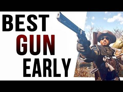 Fallout 4: The Best Gun Location at Level One