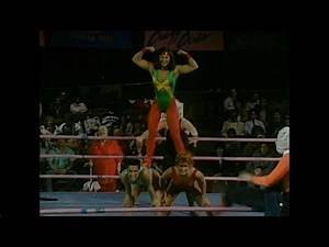 GLOW Wrestling Cheyenne Cher, Vicky Victory, and Lightning vs Sara, Mabel, and Beastie