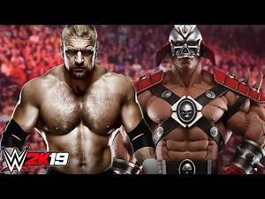 TRIPLE H VS SHAO KAHN WWE 2K19