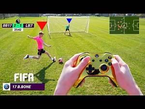 I Played FIFA 20 In REAL LIFE! Virtual Reality FIFA