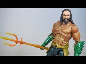 DC Multiverse Aquaman Movie Figure Review (C&C Trench Warrior)