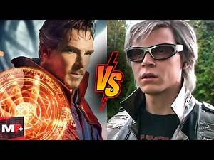 Doctor Strange Vs Quicksilver Battle