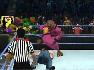 TMNT VS Mega Powers Survivor Series 1988 Match 2 Part 2.wmv