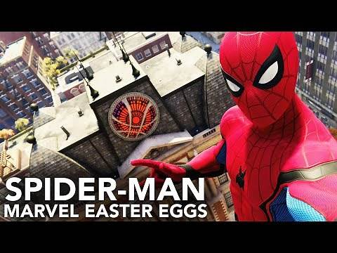 Spider-Man (PS4) Marvel Universe Easter Egg Locations