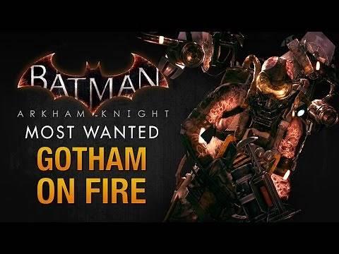 Batman: Arkham Knight - Gotham on Fire (Firefly)