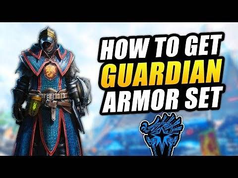 How To Get New Guardian Armor Set - Monster Hunter World Iceborne