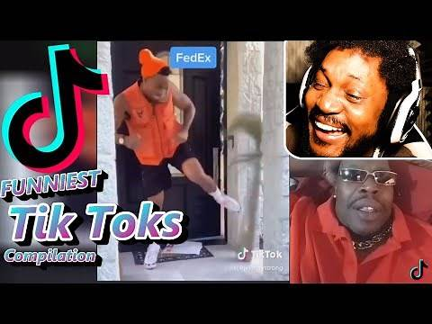 Reacting To The FUNNIEST Tik Toks! (Try Not To Laugh Challenge)