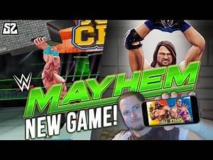 WWE ALLSTARS ON MOBILE?! THIS IS AWESOME! | WWE MAYHEM #1