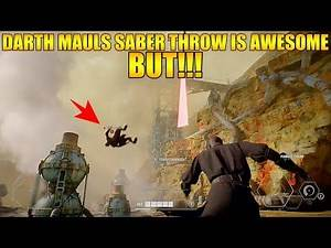 Awesome Darth Maul Heroes vs Villains Gameplay - Star Wars Battlefront 2