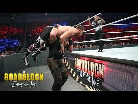 Sami Zayn vs. Braun Strowman: WWE Roadblock: End of the Line 2016 on WWE Network
