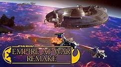 Star Wars Empire at War Remake Mod 3.0 Part 1 - BATTLE OVER COURSCANT