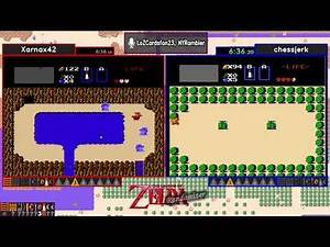 Xarnax42 vs chessjerk. Zelda 1 Randomizer Tournament 2019