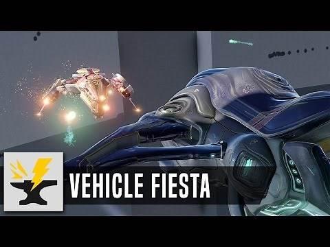 Vehicle Fiesta - Halo 5 Custom Game