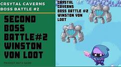 Prodigy Math Game   Crystal Caverns Winston Von Loot Boss Battle #2