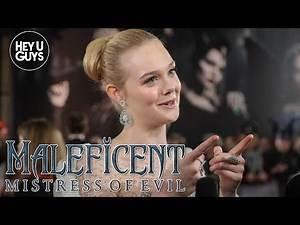 Elle Fanning on female representation in Maleficent 2 Mistress of Evil - UK Premiere