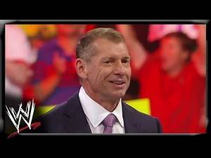 Mr. McMahon welcomes to everyone to the 1000th episode of Raw: Raw 1000, July 23, 2012
