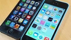 iPhone 5 vs iPhone 5C Comparison!